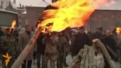 Латвияда 1991 йил январдаги баррикадани эслашмоқда