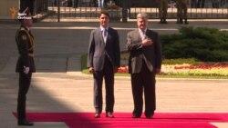 Президент України проводить зустріч із прем'єром Канади