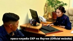 Михаил Афанасьев на допросе в Следственном комитете