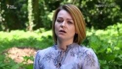 Юлия Скрипаль впервые появилась перед камерами после отравления (видео)