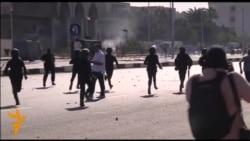 Эгіпэт: Бойкі з паліцыяй