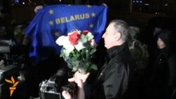 Freed Sannikov Welcomed In Minsk
