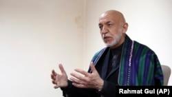 د افغانستان پخوانی جمهور رئیس حامد کرزی