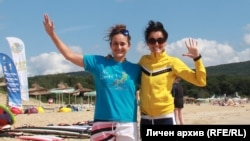 Бояна Коцева и Даниела Садикова