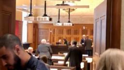 جلسه دادگاه حمید نوری در استکهلم