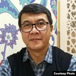 Қырғыз саясаттанушысы Эсен Омурканов.