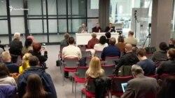 У Києві пройшла лекція за участі Чийгоза і Балуха (відео)