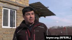 Экрем Джапаров, житель микрорайона вблизи улицы Генерала Васильева в Симферополе, участник «поляны протеста»