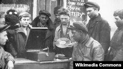 Патефон в СССР