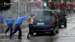 Protest aktivistkinja Femen-a u Parizu