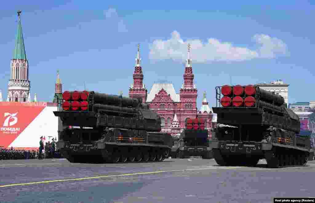 Російська ракетна система «Бук-М3» була серед представлених під час параду на День Перемоги