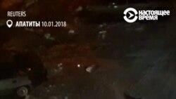 В России мужчина приехал на бронированном тягаче за вином