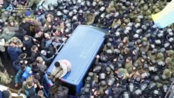 Pristalice oslobodile Sakašvilija