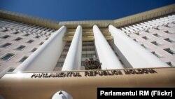 Sediul parlamentului de la Chișinău