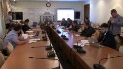 Борислав Береза презентує результати аналізу законопроектів на корупцію