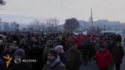 Будапештда намойишчилар Бош вазир истеъфосини талаб қилди