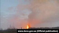 Авария на газопроводе в Полтавской области, 9 января