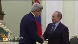 Кремлде Путин менен Керри жолугушту
