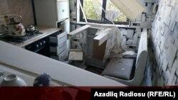 A támadásban összedőlt egy lakóépület is