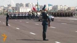 07 05 2015 Парада во Казахстан, марш во Авганистан