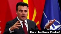 Түндүк Македониянын мурдагы өкмөт башчысы Зоран Заев.