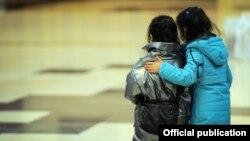Дети, вернувшиеся из Ирака. 16 марта 2021 года.