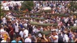 Під Сребреницею перепоховали останки ще 409 осіб із масової могили