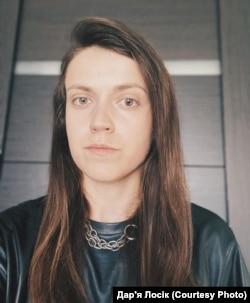 Дарья Лосік, архіўнае фота