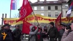 03.04 2015 Поддршка за Шешељ во Србија, американско катче во Киргистан