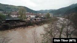 Így szennyezte be a verespataki bánya az Arany-folyót 2002. november 7-én