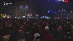 Rumunët protestojnë kundër shfuqizimit të ligjeve për korrupsion