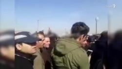 تجمع اعتراضی در کرمانشاه