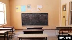 Училница во училиште во Авганистан