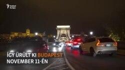 Így ürült ki Budapest november 11-én