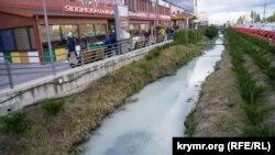Река Славянка, Симферополь, 19 ноября 2020