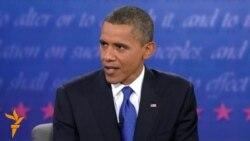 Лошади и штыки на президентских дебатах в США