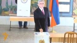 У Вірменії відбуваються вибори президента