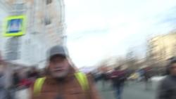 Опрос участников шествия памяти Бориса Немцова
