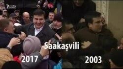 Saakashvili 2003-cü və 2017-ci illərdə