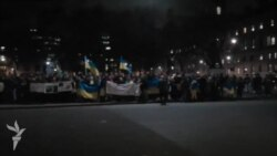 Мітинг солідарності з українським Євромайданом у Лондоні
