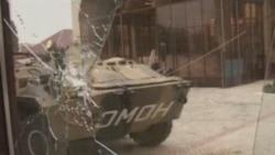 Чечен ОМОНы парламент бинасын контрольгә алды