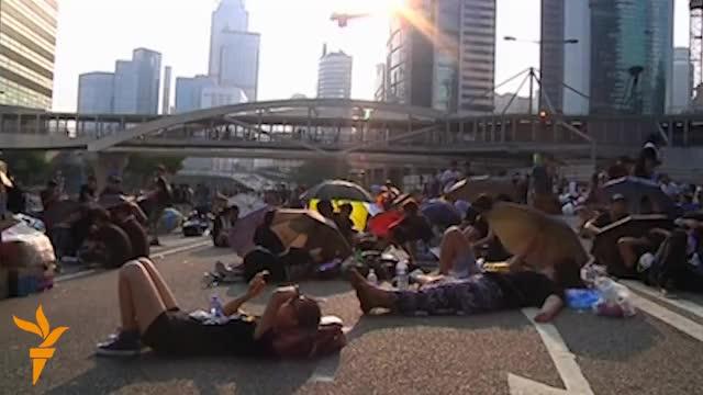 Гонконгте мыңдаған наразы көшеде тұр