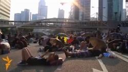 Гонконг: баррикады на улицах