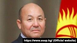 Эсептөө палатасынын төрагасы Алмазбек Акматов.