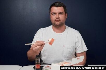"Один из основателей сети азиатского фастфуда ""Ёбидоёби"" Константин Зимен"