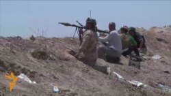 Turkoman Volunteers Fight ISIL Militants Near Kirkuk