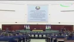 Шавкат Мирзиеев 7 январ 2017 прокуратура ходимлари олдиди чиқиши