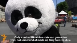 Panda And Bear Weigh In On Russia, Ukrainian Election