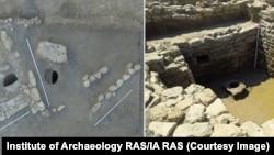 "An excavated late-medieval ""pool-cistern"" at Kosh-Kuyu."