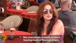 Vox Pop: Russian Tourists In Prague On Food-Import Ban